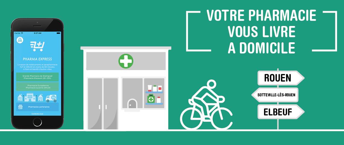 Pharma Express : Votre pharmacie vous livre à domicile