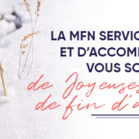 Joyeuses Fêtes de fin d'année de la part de la Mutualité Française Normandie Services de Soins et d'Accompagnement